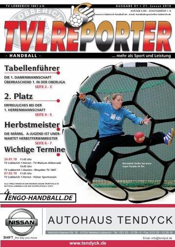 Herbstmeister 2. Platz - TV Lobberich