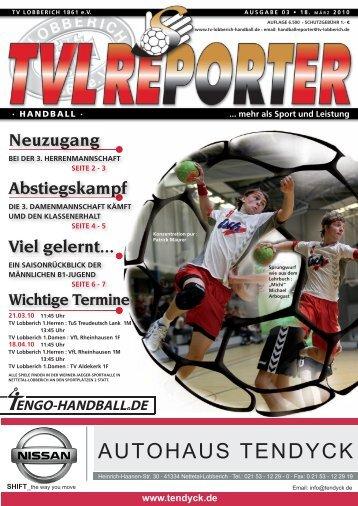 Ausgabe 03/2010 - TV Lobberich