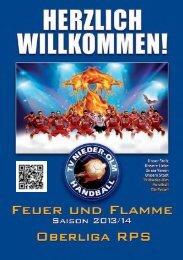 Feuer und Flamme - Saison 2013/14 - TV 1893 Nieder-Olm e.V.