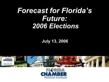 Marian Johnson's Electorial Update - Floridians for Better ...