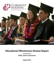 Educational Effectiveness Report with Appendices - Multiple Choices
