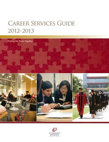 Career Services Guide 2012 - 2013 - Multiple Choices
