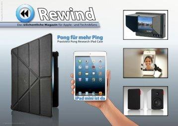 Pong für mehr Ping - MacTechNews.de - Mac Rewind