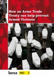 How an Arms Trade Treaty can help prevent Armed ... - Control Arms