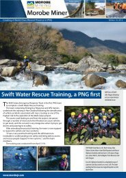 Swift Water Rescue Training, a PNG first - Morobe Mining Joint ...