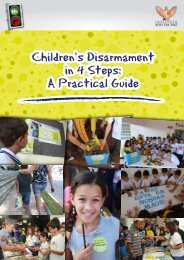Children's Disarmament in 4 Steps: A Practical Guide - IANSA