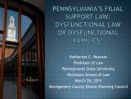 Katherine C. Pearson Professor of Law ... - Penn State Law