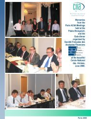 Momentos from the Paris ACIIA Meetings held at the Palais ...