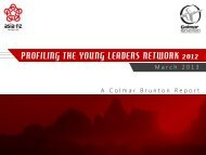 profiling the young leaders network 2012 - Asia New Zealand ...