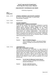 Download the preliminary programme for the roundtable - Asia New ...