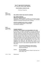 THE 27th ASIA-PACIFIC ROUNDTABLE 3-5th June 2013, Kuala ...