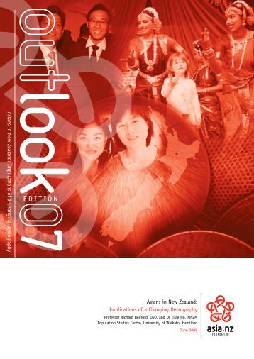 Asians in New Zealand: Implications of a changing demography (PDF)