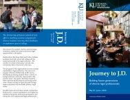 Journey to J.D. - University of Kansas School of Law