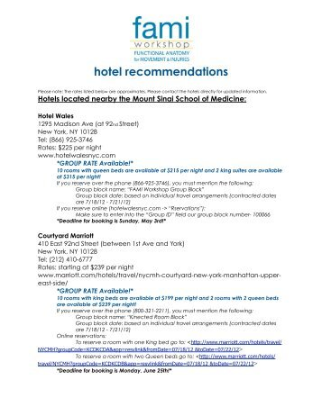 Hotel Recommendations 2017 Edit Group Code Kinected