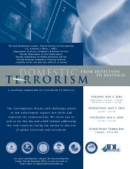Conference Agenda - Anti-Defamation League