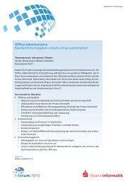 05 fi-Forum datenblatt stand 05 07 ... - Finanz Informatik