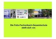 Die Felix-Fechenbach-Gesamtschule stellt sich vor.