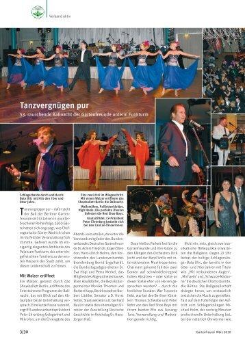 Artikel im Gartenfreund 3/10 - Landesverband Berlin der ...