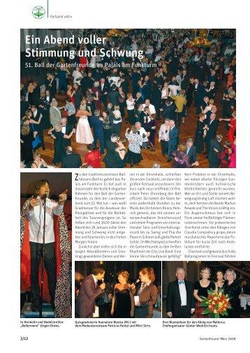 Artikel im Gartenfreund 3/08 - Landesverband Berlin der ...