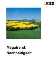 Megatrend: Nachhaltigkeit - Gymnasium Horkesgath