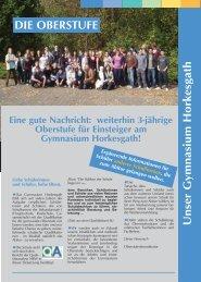 Sonderbroschüre 2010.qxd - Gymnasium Horkesgath