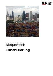 Megatrend: Urbanisierung - Gymnasium Horkesgath