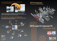 IPTV Producer Data Sheet