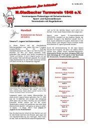 Handball - M.Gladbacher Turnverein 1848 eV