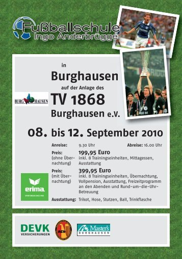 "Anmeldeformular ""Fußballschule Ingo Anderbruegge"" - TV 1868 ..."