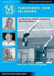 Vereinszeitung 4/2013 - TV 1848 Erlangen