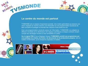 Le centre du monde est partout - TV5 Monde