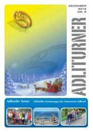 Adliswiler Turner vom Dezember 2013 - Turnverein Adliswil