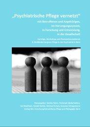 """""""Psychiatrische Pflege vernetzt"""" (2011)"""