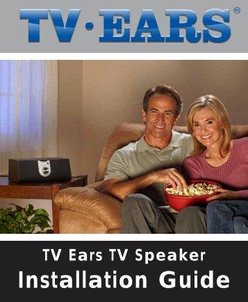 Installation Guide - TV Ears Canada