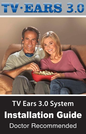 to view the Installation Manual - (PDF) - TV Ears Canada