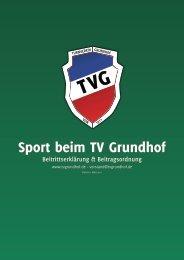 Beitrittserklärung TV Grundhof