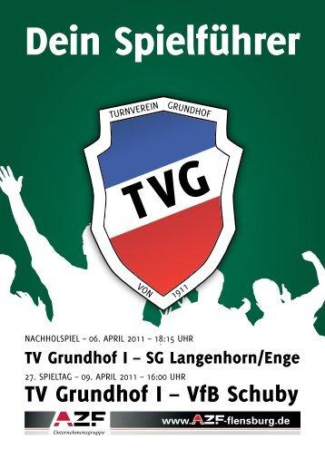 TV Grundhof I – VfB Schuby