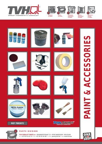 Paint & accessories - TVH