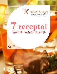 7 receptai šiltam rudens vakarui