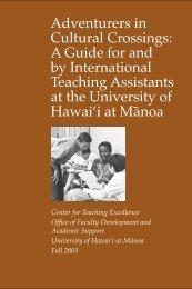 International Teaching Handbook - the Center for Teaching ...