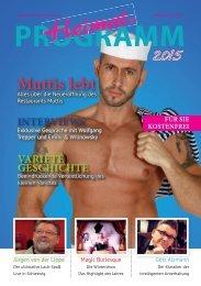 HEIMAT-RAum für Unterhaltung Programm 2015