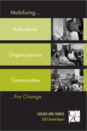 Mobilizing... ...For Change Individuals Organizations Communities