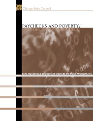 Paychecks_and_Povert.. - Chicago Jobs Council