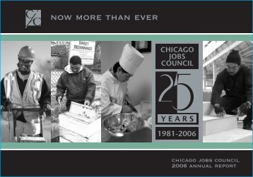 now more than ever - Chicago Jobs Council