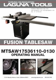 FUSION TABLESAW - Gregory Machinery