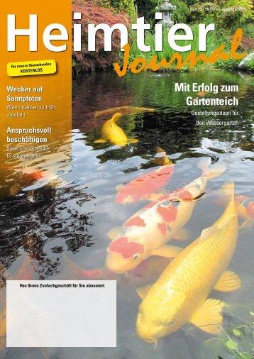 Mit Erfolg zum Gartenteich - Petmeds.de