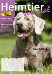 September 2011 - Ausgabe 76 - Petmeds.de