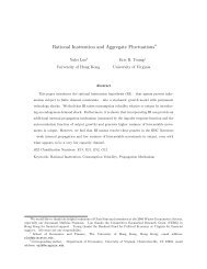 Rational Inattention and Aggregate Fluctuations - the School of ...