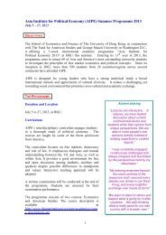 Information Leaflet - the School of Economics and Finance - The ...