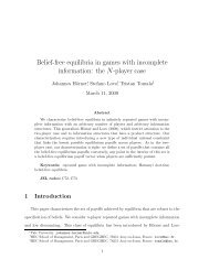 Belief-free equilibria in games with incomplete information: the N ...